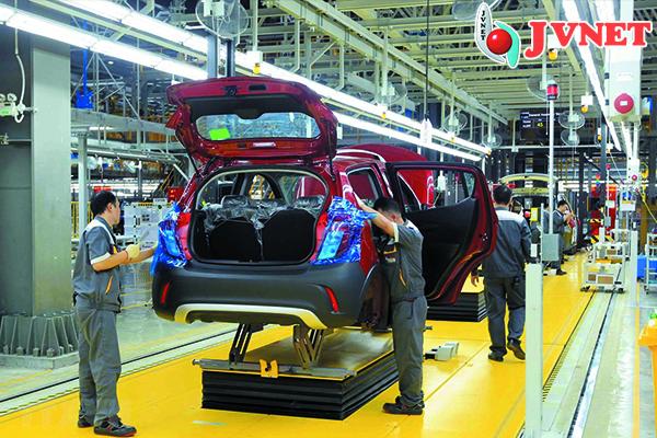 Xuất khẩu Nhật Bản ngành ô tô