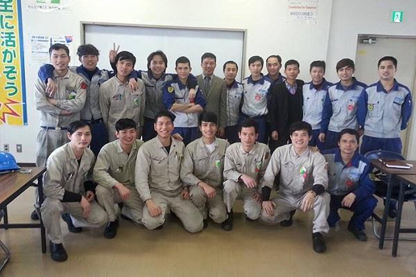 Đại diện JVNET sang thăm các TTS tại Nhật Bản