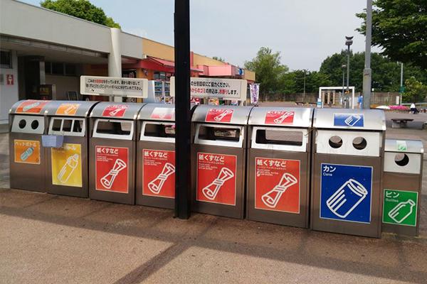 Phân loại rác tại Nhật