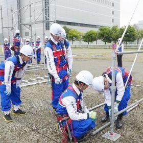 Tháo lắp giàn giáo tại Nhật