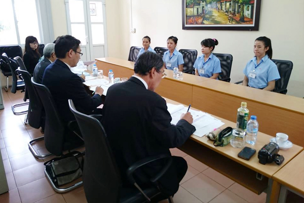 Buổi phỏng vấn xuất khẩu lao động Nhật Bản tại JVNET