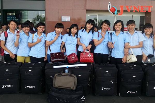 Đoàn thực tập sinh của JVNET đã chuẩn bị đủ hành trang để chuẩn bị xuất cảnh