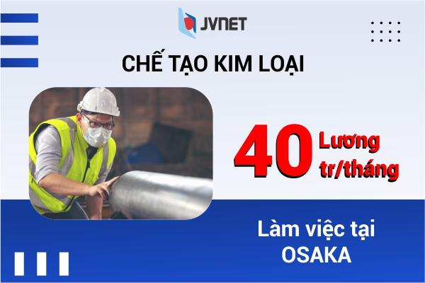 Đơn hàng chế tạo kim loại cho Nam