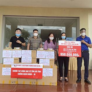 JVNET hỗ trợ Hà Tĩnh