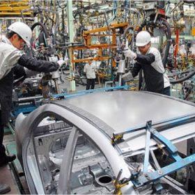 Sản xuất linh kiện ô tô