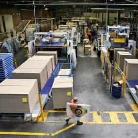Đơn hàng sản xuất thùng carton