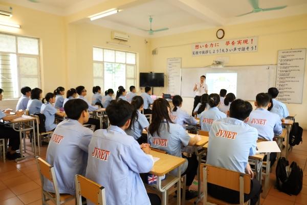 cơ sở vật chất trung tâm học tiếng Nhật