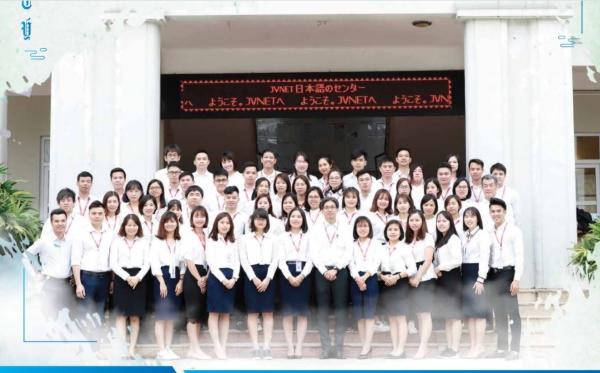 đội ngũ giáo viên tại trung tâm học tiếng Nhật JVNET