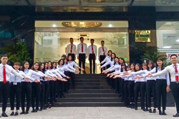 Đội ngũ nhân viên tại công ty XKLĐ Nhật Bản JVNET