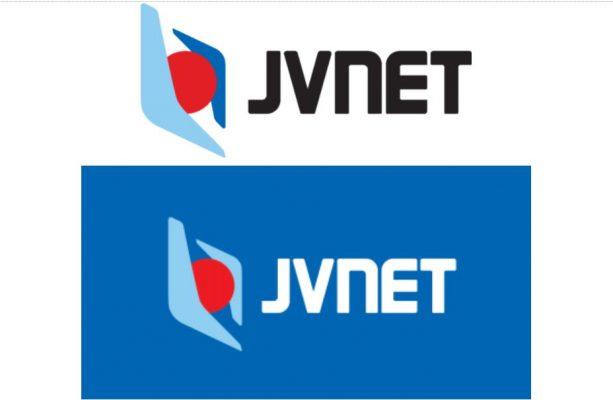 Logo mới của JVNET với đường nét rõ ràng hơn
