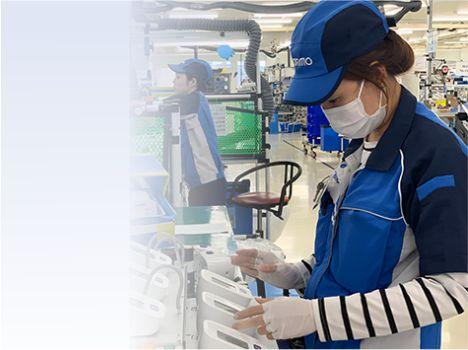 làm việc ở Nhật ngành kiểm tra máy